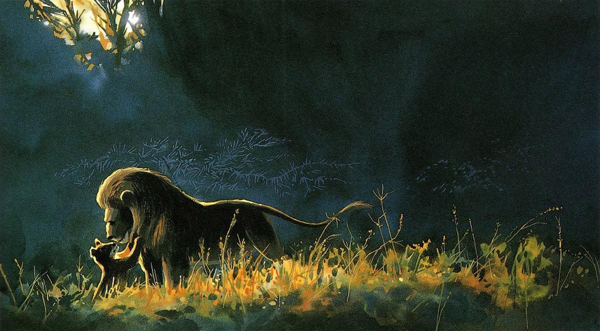 Le Roi Lion [Walt Disney - 1994] - Page 18 Lion_king_concept_art_color_key_14