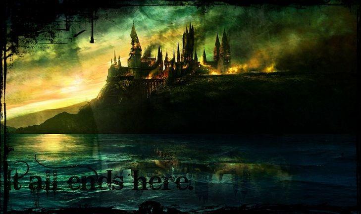 Добре дошли в училището за магия и вълшебство Хогуортс..