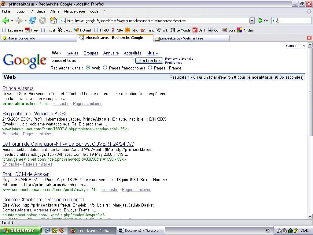 Mise a jour du fofo - Page 6 Googlef