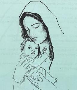 Priere du soir - Page 7 T-vierge_marie1