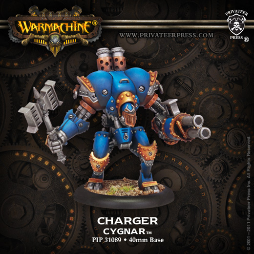 Privateer Press 31089-Charger09WEB