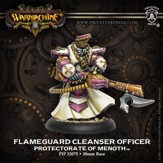 Privateer Press 32075_FlameguardCleanserOfficerWEB