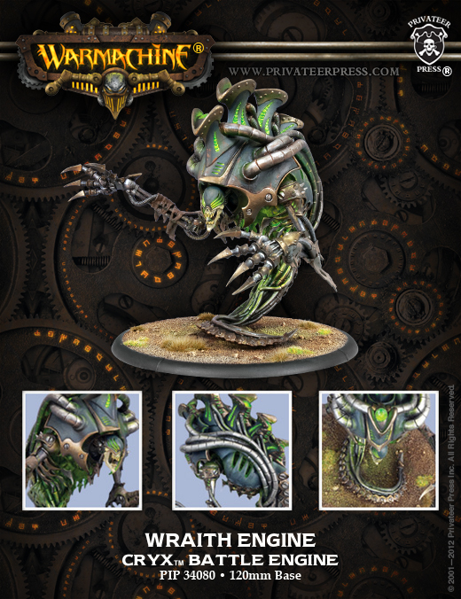 Privateer Press 34080_WraithEngineWEB