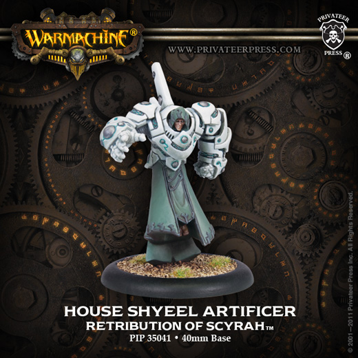 Privateer Press 35041_HouseShyeelArtificerWEB