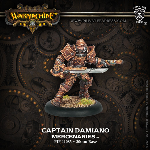 Privateer Press 41083_CaptainDamianoWEB