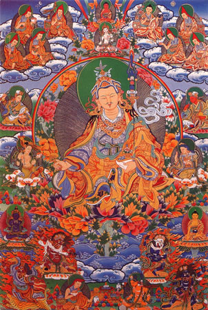 Гуру Ринпоче (Падмасамбхава) и мантры Padma