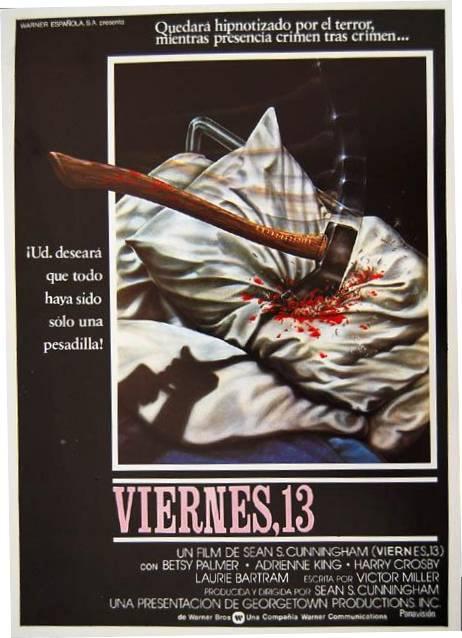 -Los mejores posters/afiches  del cine de terror y Sci-fi- - Página 2 Viernes