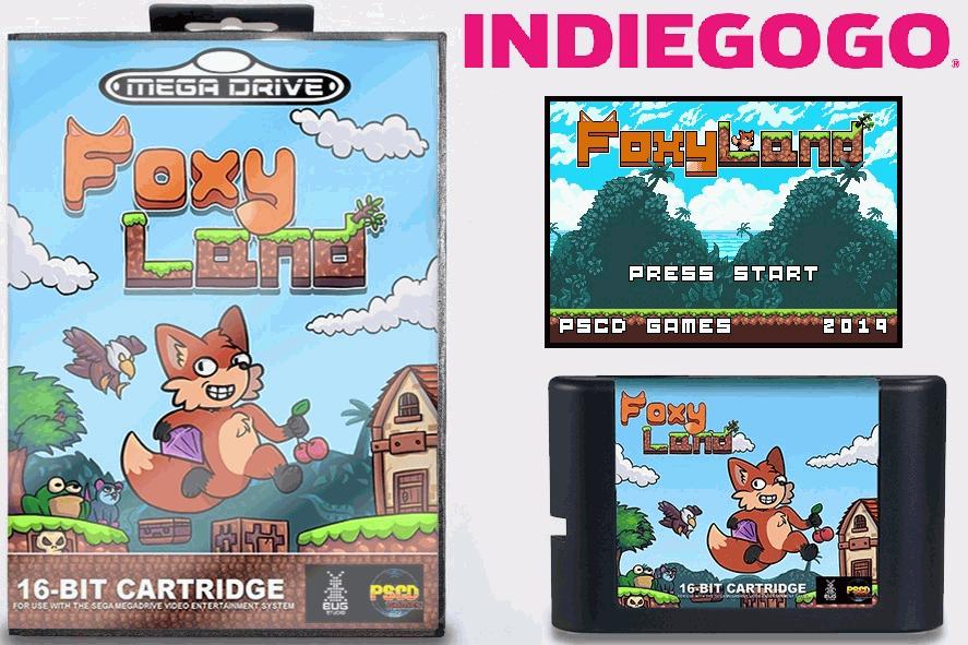 New Game FoxyLand for Sega Mega Drive / Genesis (Demo) 1561040419_u-lcylv4ooe