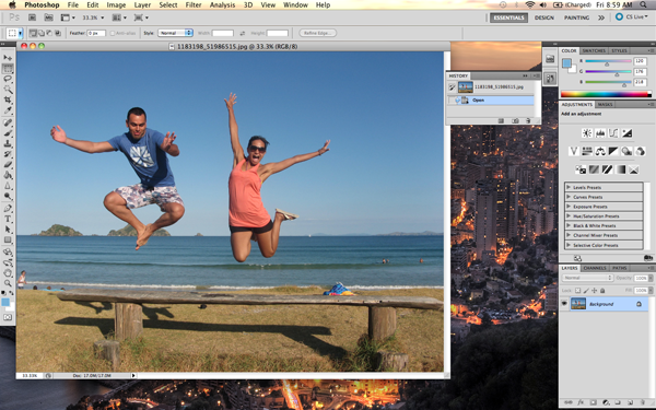 Retirando Pessoas ou Objetos da foto - Photoshop CS5 Image003