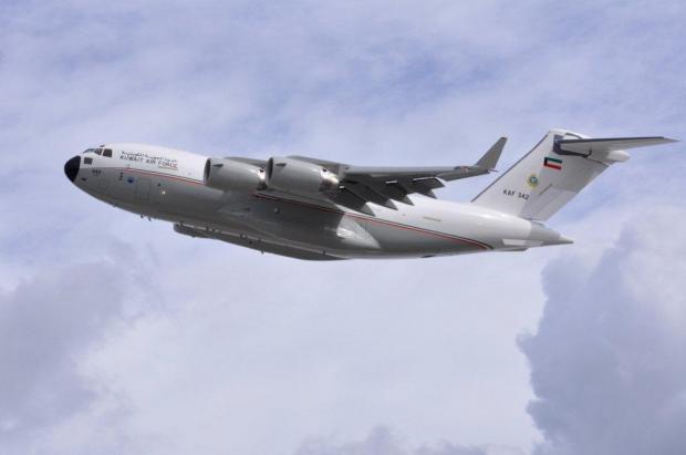الكويت تنضم الى عضوية الدول  نادي C-17 1444428762