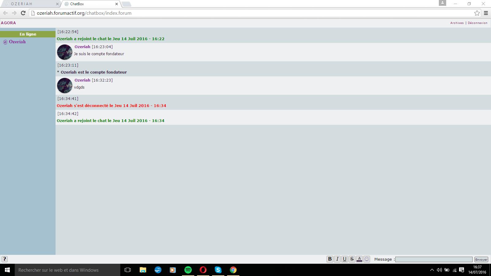 Chatbox personnalisée #1 par Cheshire Cat Bc7e934a52