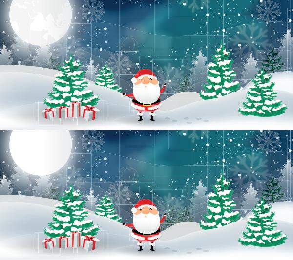 [Jeu - 7 différences] Un Père Noël bien joyeux 7diff-1