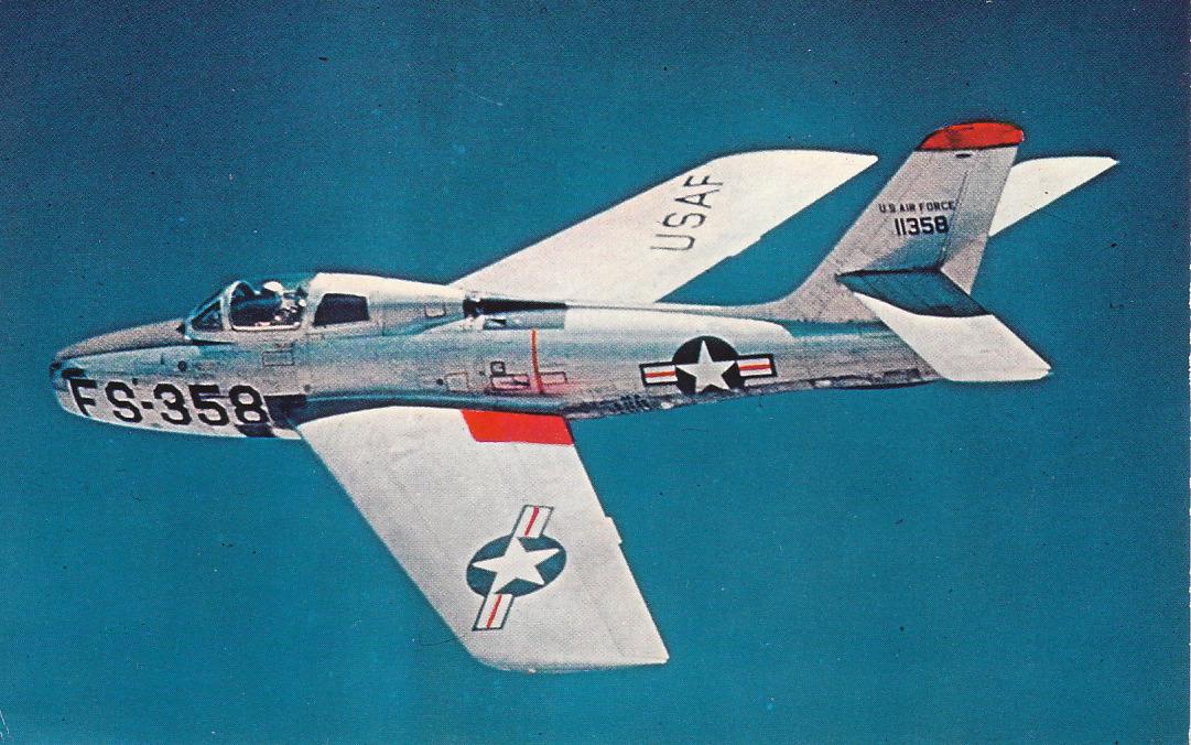 F-84G THUNDERJET - Page 2 Strnad_republicf-84f