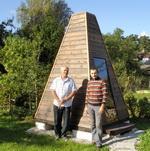 Как построить Пирамиду → Пирамида этрусков в Латвии 1297288901_190