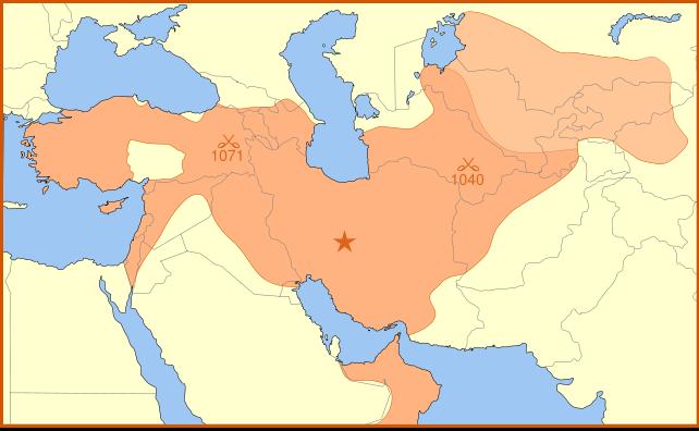 Première croisade Seljuk_Empire
