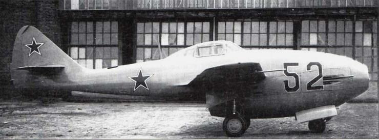 Lavochkin - avioni konstruktora Lavočkina Lavochkin-La-152