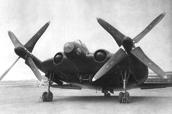 Flying Saucers Vought-XF5U
