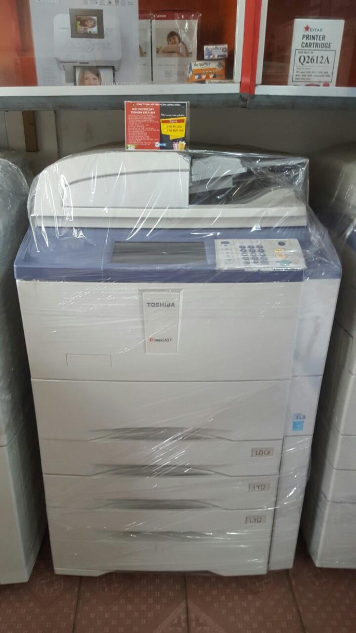 Máy Photocopy Toshiba e-Studio 657 chính hãng tại Đắk Lắk Tsb6571