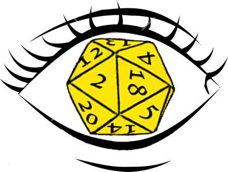Logotipo Ojo al dado Oad-trazo