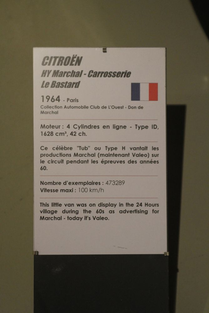 Musée des 24h du Mans IMG_1042