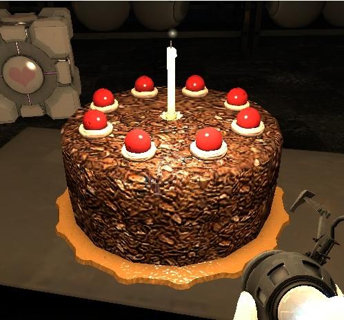 Hidy-Ho~ The_cake_is_a_lie_portal