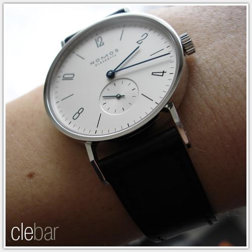 L'augmentation de la taille des montres, ça devient gavant Clebar-tangente