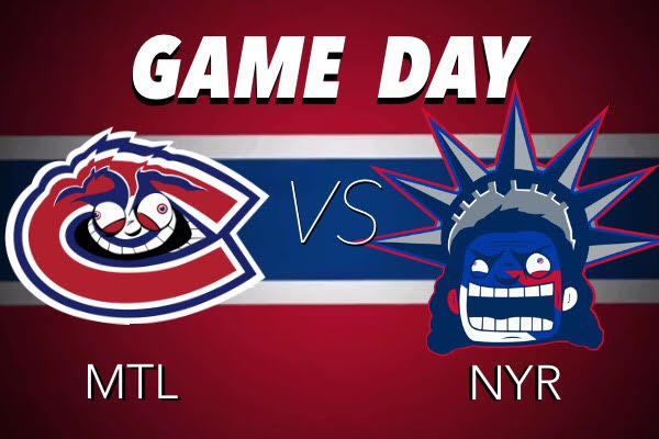 Match #25 : NY Rangers vs Canadiens - Samedi 1er décembre Habs-vs-Rangers