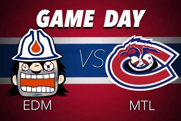 Match #18 - Canadiens vs Oilers - Mardi 13 novembre Oilers-vs-Habs