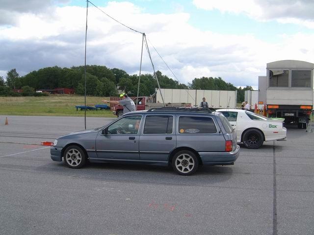 Grey - Sierra med V6:a som suger! SLUTKÖRT FÖR I ÅR! Blackrace2