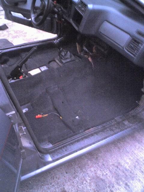 Grey - Sierra med V6:a som suger! SLUTKÖRT FÖR I ÅR! Intredning3