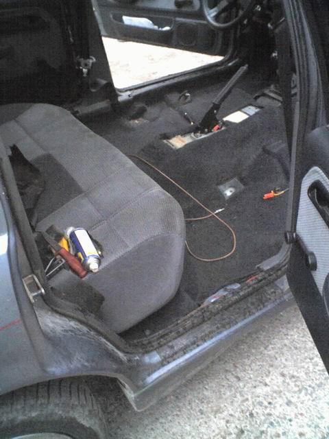 Grey - Sierra med V6:a som suger! SLUTKÖRT FÖR I ÅR! Intredning4