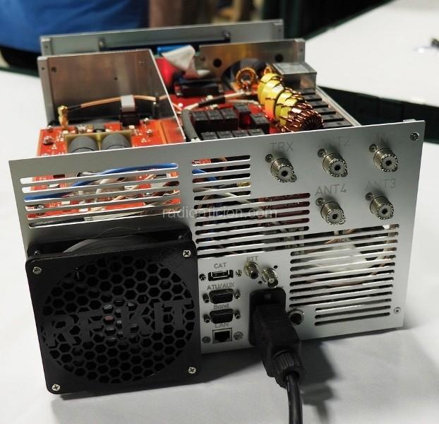 Amplificateur HF à transistors : B26-PA RF2K5 Solid State Amplifier (kit) RF2K5_Solid_State_Amplifier_rf-kit2