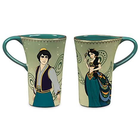 D23 Expo 2015 Mug-art-of-Jasmine-Aladdin-1