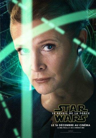 Star Wars : Le Réveil de la Force [Lucasfilm - 2015] - Page 5 Star-Wars-Reveil-Force-Poster-Personnage-Leia-France-336x480
