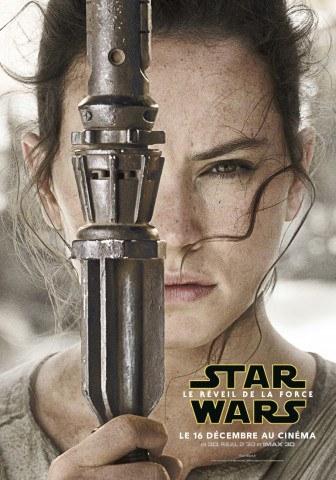 Star Wars : Le Réveil de la Force [Lucasfilm - 2015] - Page 5 Star-Wars-Reveil-Force-Poster-Personnage-Rey-France-336x480
