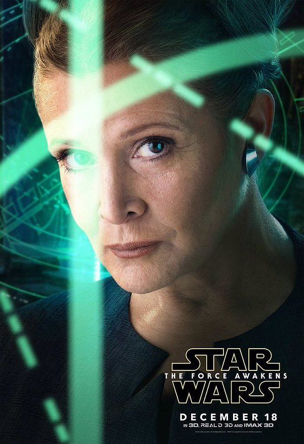 Star Wars : Le Réveil de la Force [Lucasfilm - 2015] - Page 5 Star-Wars-Reveil-Force_Poster-Leia-Organa