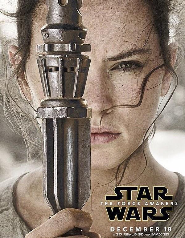 Star Wars : Le Réveil de la Force [Lucasfilm - 2015] - Page 5 Star-Wars-Reveil-Force_Poster-Rey