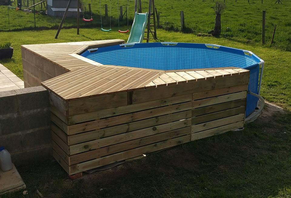 Ma mini piscine avec mini terrasse :)  14
