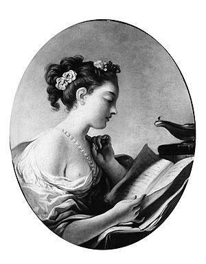 Divagations sur la lectrice Fragonardwoman