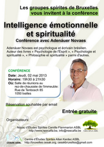 27 Mai 2013 (Radio Kardec) Conférence: Intelligence émotionnelle et spiritualité 20130527_Adenauer_Novaes