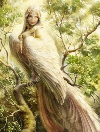 Птица Гамаюн Gamaun2