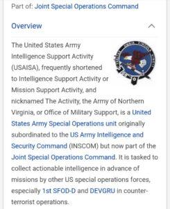 РАЗОБЛАЧЁН ТЕЛОХРАНИТЕЛЬ ХИЛЛАРИ — ИДЕНТИФИЦИРОВАНЫ ВНУТРЕННЯЯ ТЕРРОРИСТИЧЕСКАЯ ГРУППА И ЭСКАДРОНЫ СМЕРТИ Q-is-Joint-Special-operations-Command-245x300
