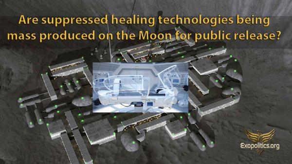 Майкл Салла: Производятся ли массово на Луне подавленные технологии исцеления для публичного распространения? 1-13