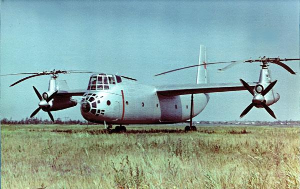 Tandem & Tilt-Rotor Aircraft development Ka-22-kamov2