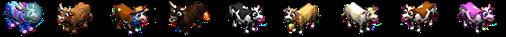L'élevage d'animaux colorés Cow_sep