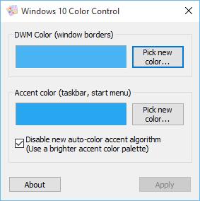 Windows10 - 26 Tools Windows-10-color-control