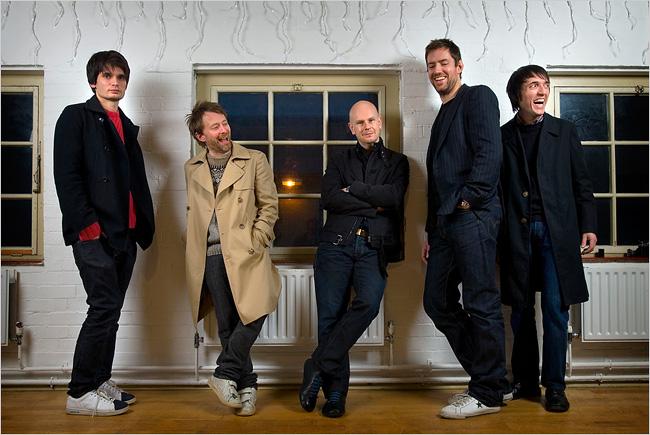 [Fotos] Banda Radiohead