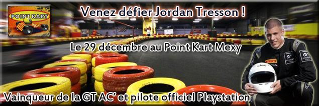 [Karting] Venez défier Jordan Tresson vainqueur de la GT AC' KartJordan
