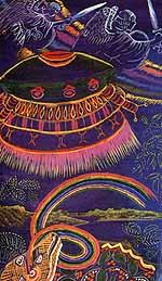 Shamanisme et Aliens Angescombattants