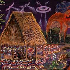 Shamanisme et Aliens Ovnispabloamaringo